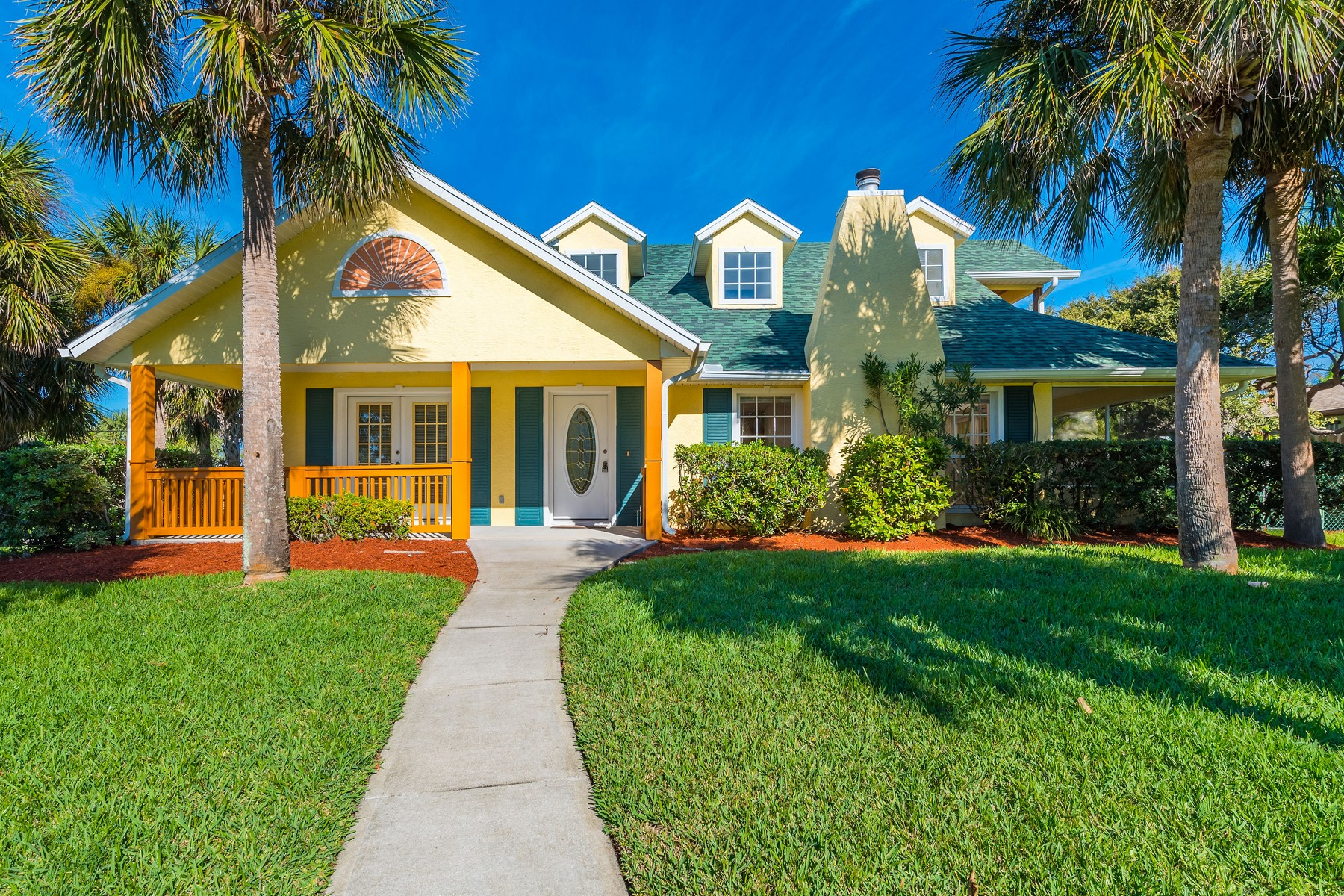 Property for Sale at Charming Beach Side American Colonial 222 Third Avenue Melbourne Beach, Florida 32951 United States