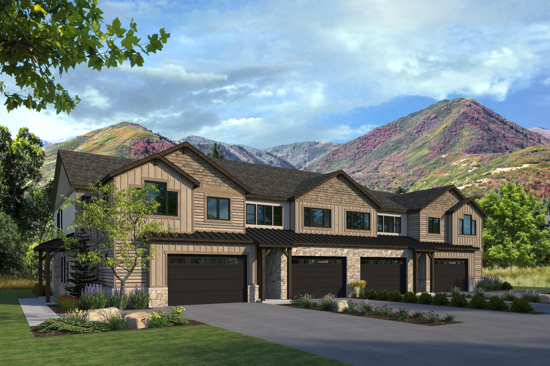 Condominiums for Active at Four Bedroom Town Home Now Under Construction in Midway 1127 North 520 West #40 Midway, Utah 84049 United States