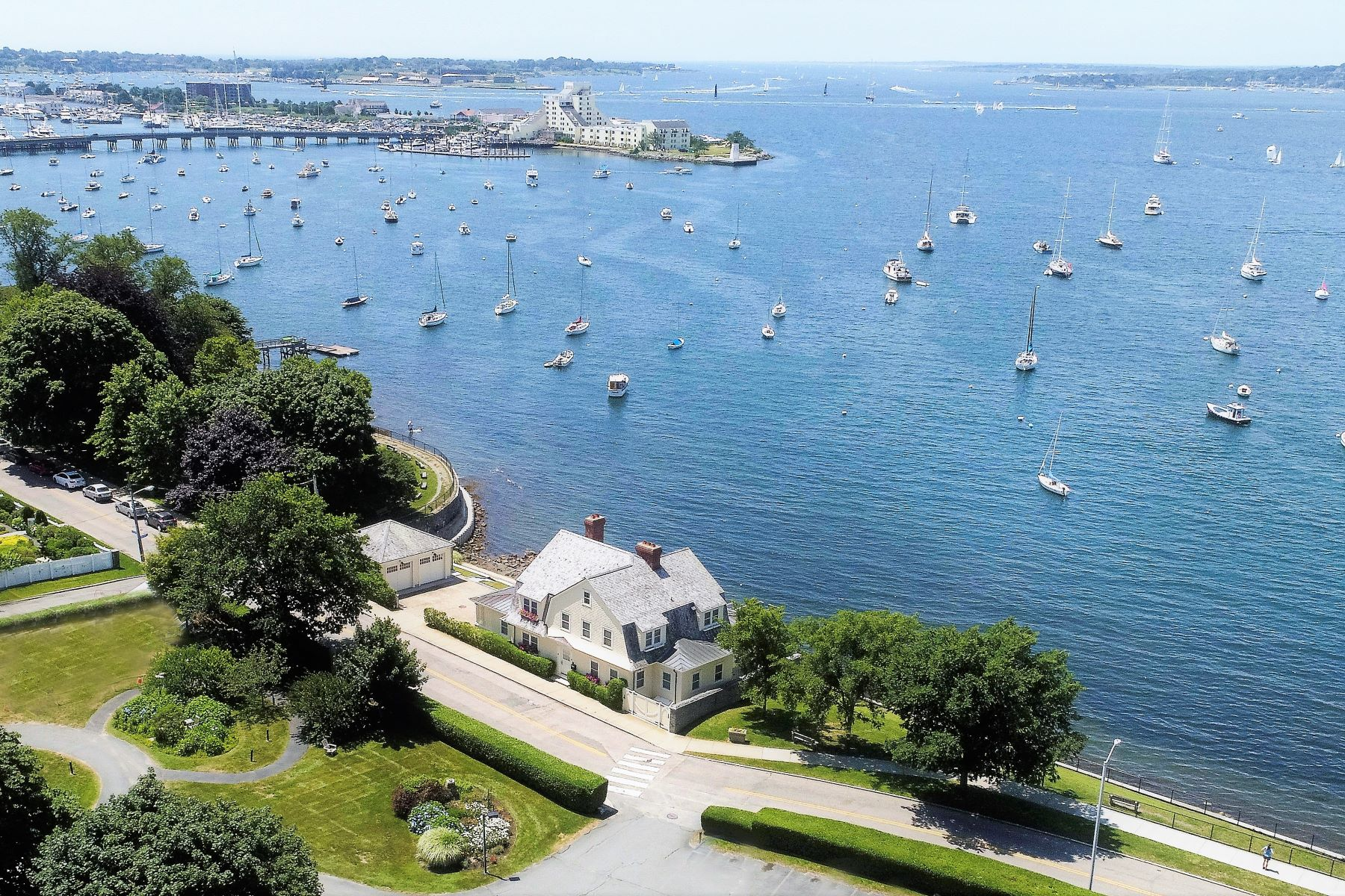 Single Family Homes for Sale at Waterfront on The Point 108 Washington Street Newport, Rhode Island 02840 United States