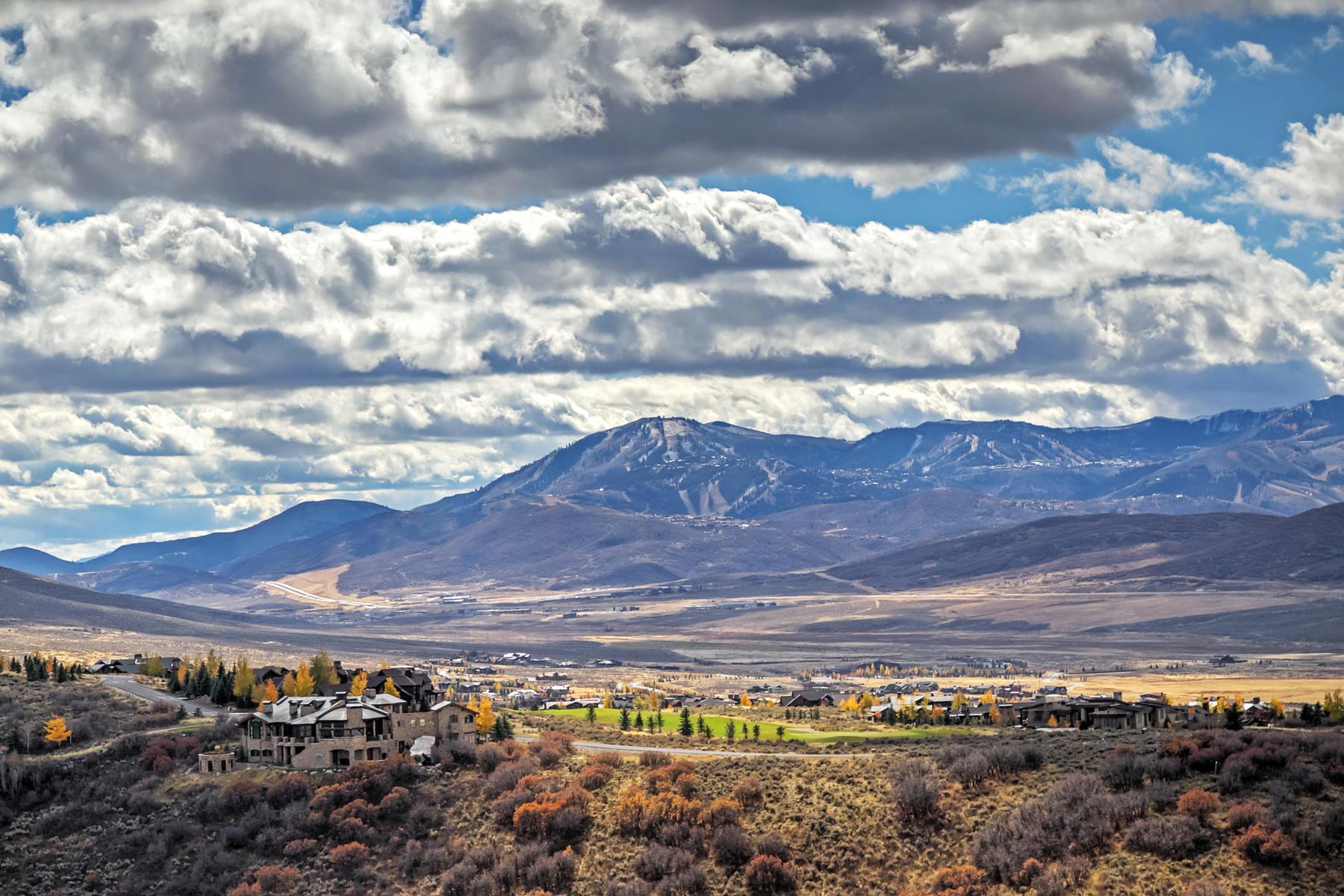 Terreno por un Venta en Big View Promontory Homesite 8606 N Promontory Ridge Rd Lot #2-19 Park City, Utah, 84098 Estados Unidos