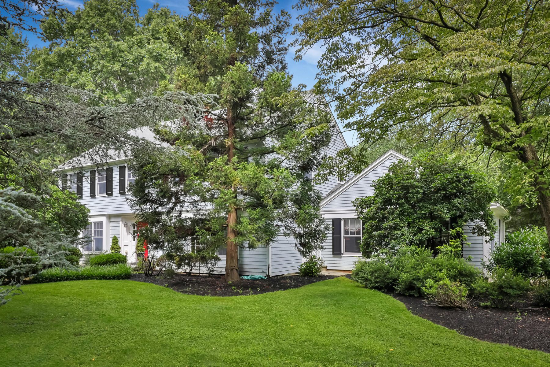 Single Family Homes for Active at Elegant Rumson Colonial 8 Woodside Drive Rumson, New Jersey 07760 United States