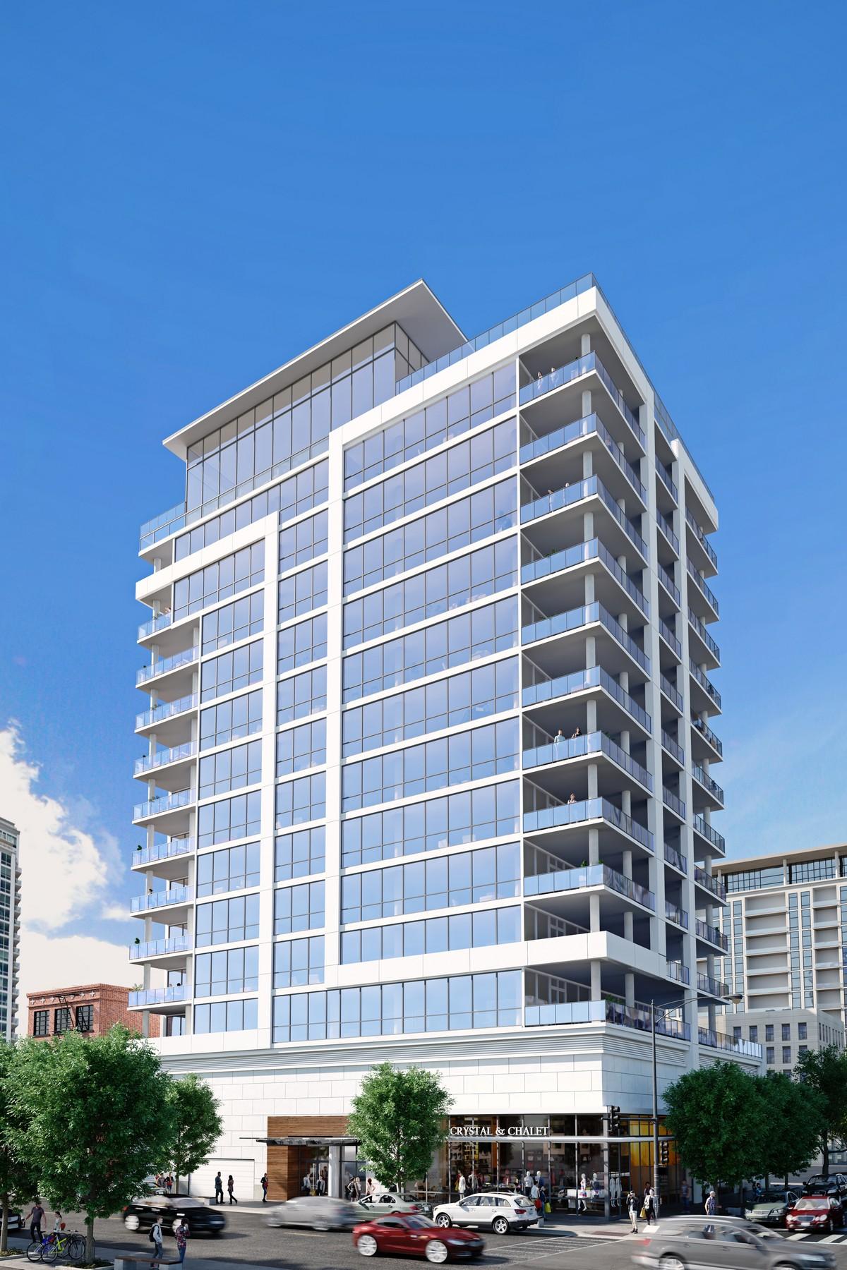 Tek Ailelik Ev için Satış at Bentham 146 W Erie Street Unit 9B, Near North Side, Chicago, Illinois, 60654 Amerika Birleşik Devletleri