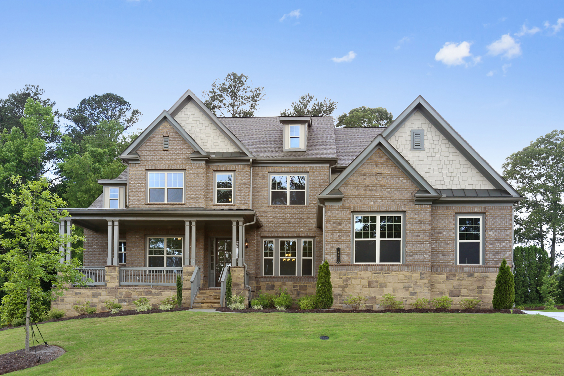 Single Family Home for Sale at New Construction On The Banks Of The Chattahoochee River 5090 Dinant Dr Johns Creek, Georgia 30022 United States