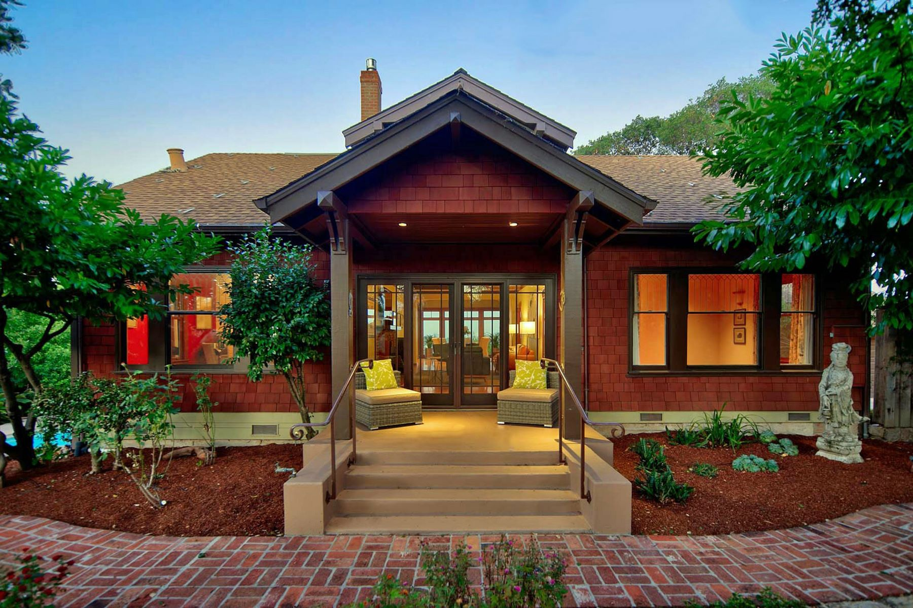 Single Family Homes for Sale at Historic Craftsman With Captivating Views of the Bay and the Richmond-San Rafael 204 Southern Heights Blvd San Rafael, California 94901 United States