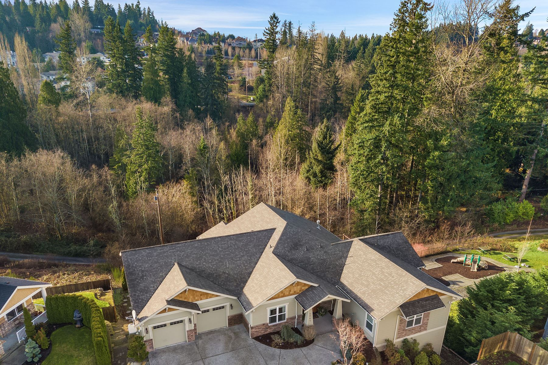 Single Family Homes for Sale at Exquisite Sammamish Home 5041 240th Place SE Sammamish, Washington 98029 United States
