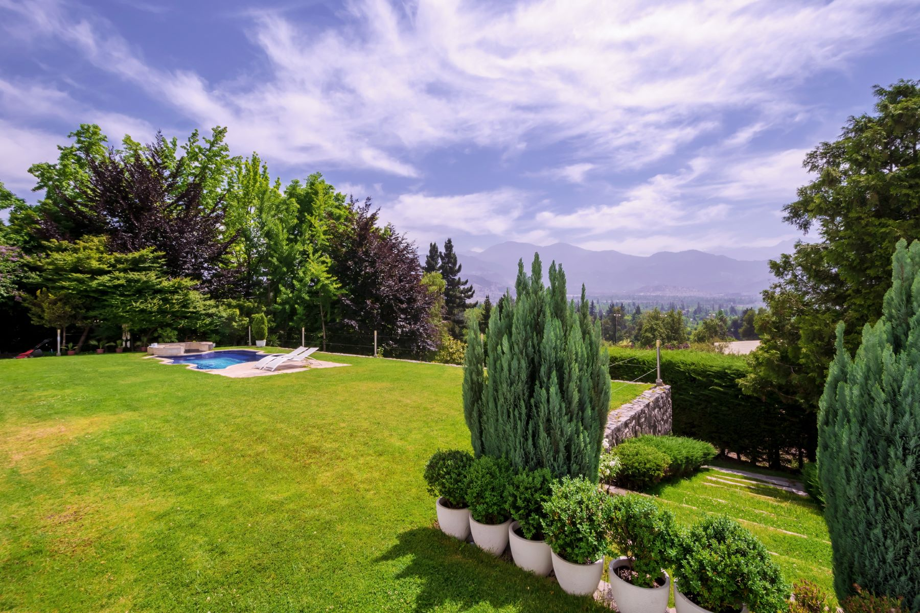 Single Family Homes for Sale at Exquisite Property in Condominio Golf Lomas de la Dehesa Lo Barnechea, Santiago, Region Metropolitana De Santiago Chile