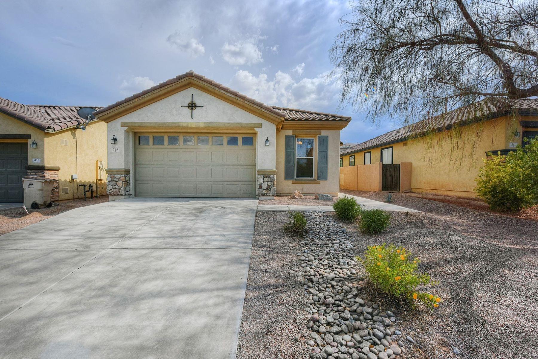 Single Family Homes for Sale at Three Bedroom Two Bath Plus Den 329 W Vuelta Friso Sahuarita, Arizona 85629 United States