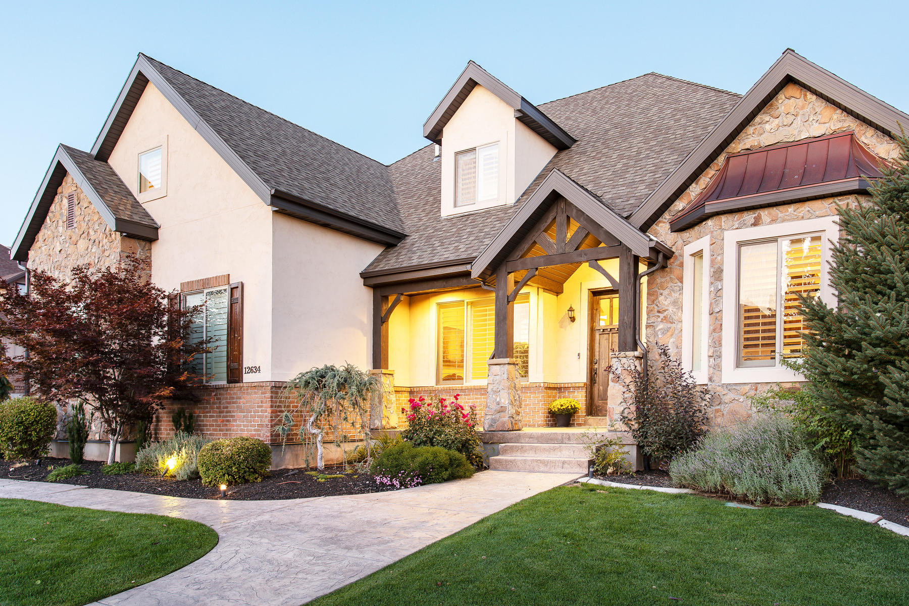 Single Family Homes for Sale at Stunning Custom Home in Highland 12634 N Ponce De Leon Drive, Highland, Utah 84003 United States