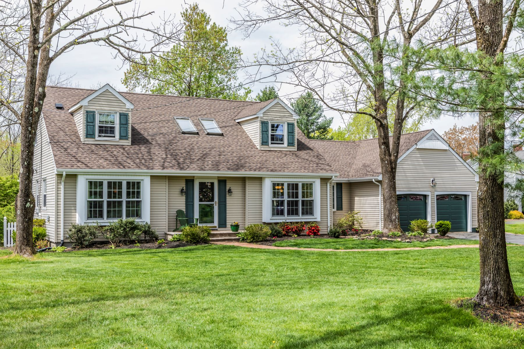 Single Family Homes for Sale at Charming Cape Built For Fun 41 Knickerbocker Drive, Belle Mead, New Jersey 08502 United StatesMunicipality: Montgomery Township