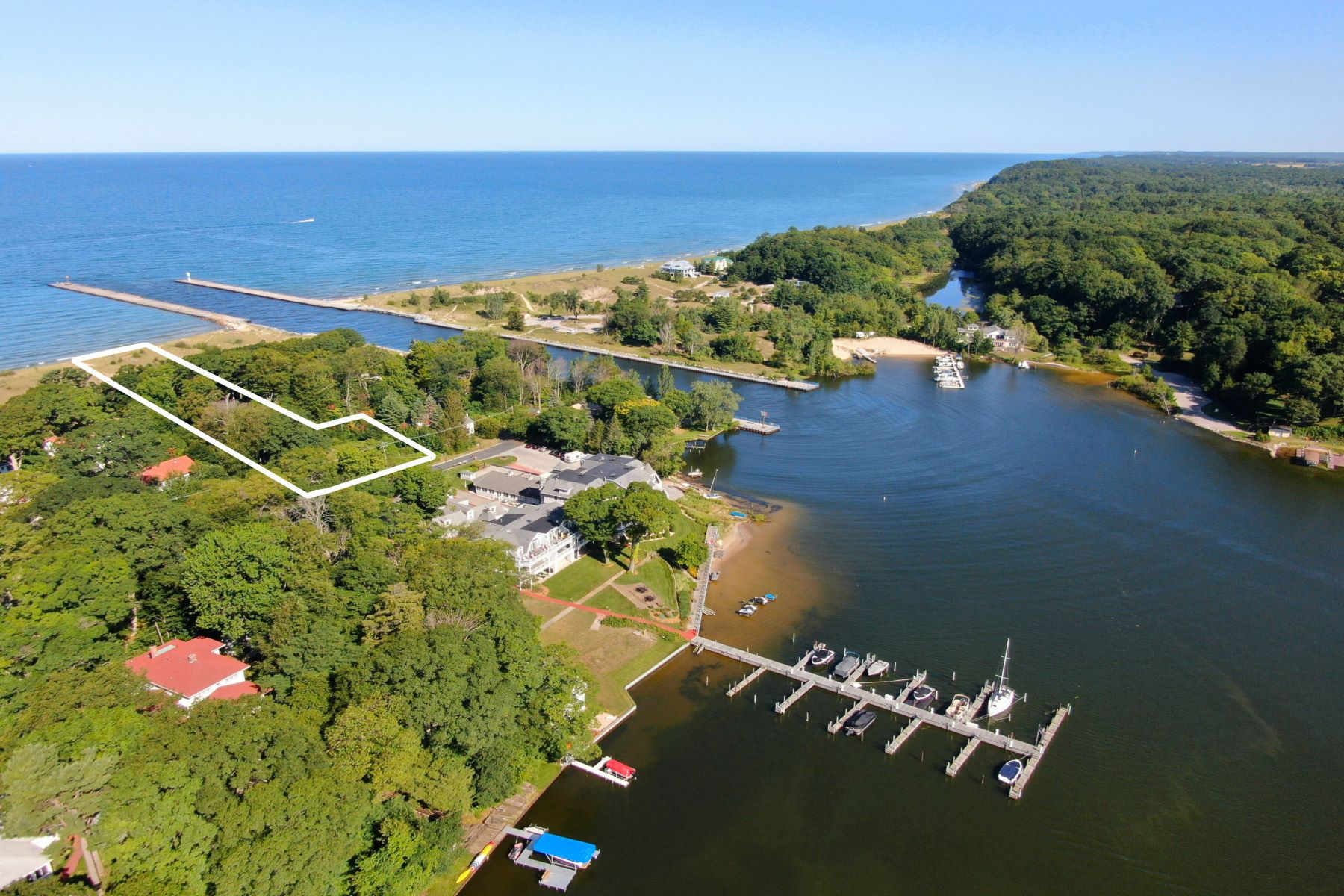 Land for Sale at Lake Michigan Waterfront Property 6169 Murray Road Whitehall, Michigan 49461 United States