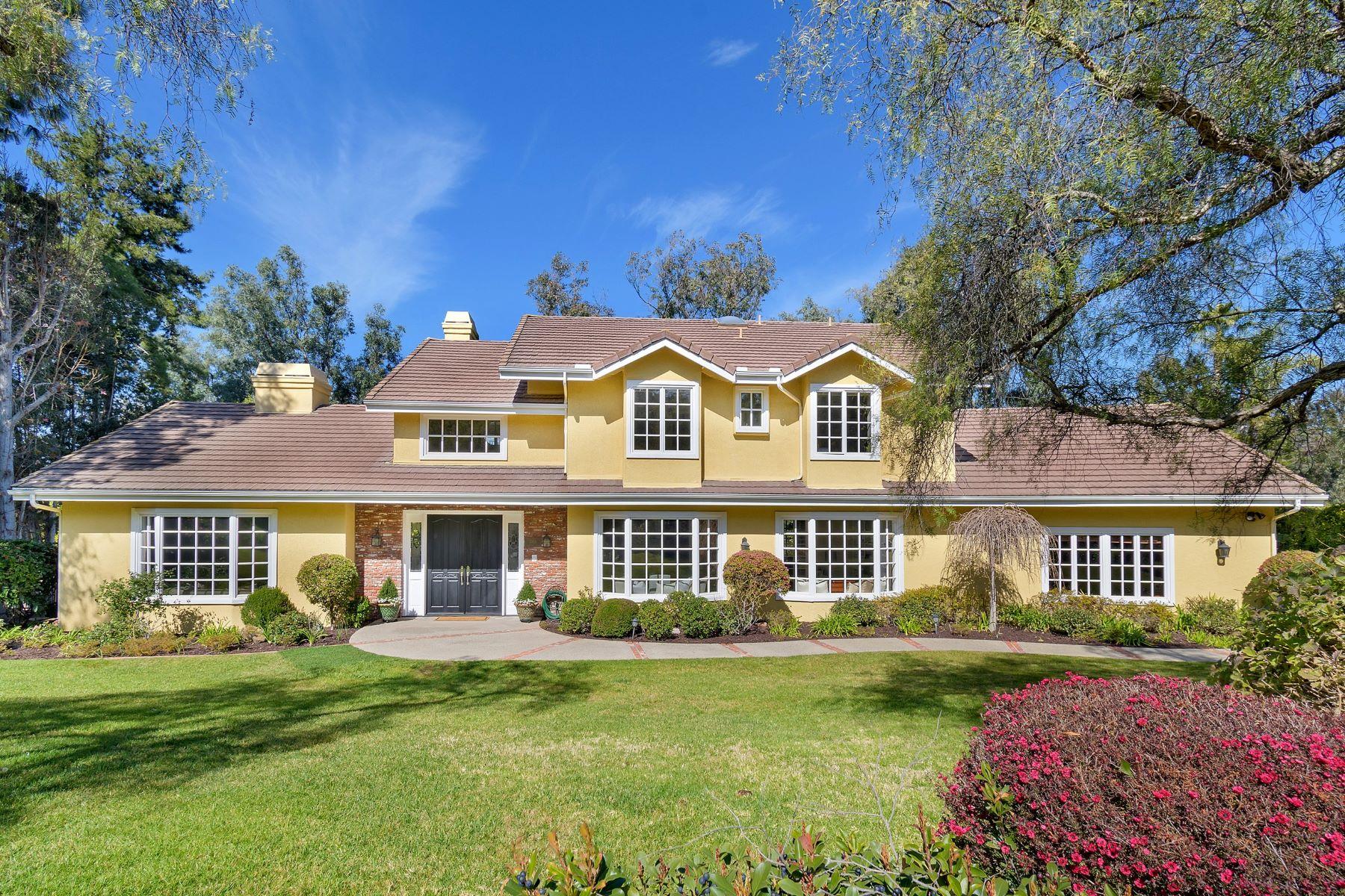 Single Family Homes for Sale at 17844 Circa Oriente Rancho Santa Fe, California 92067 United States