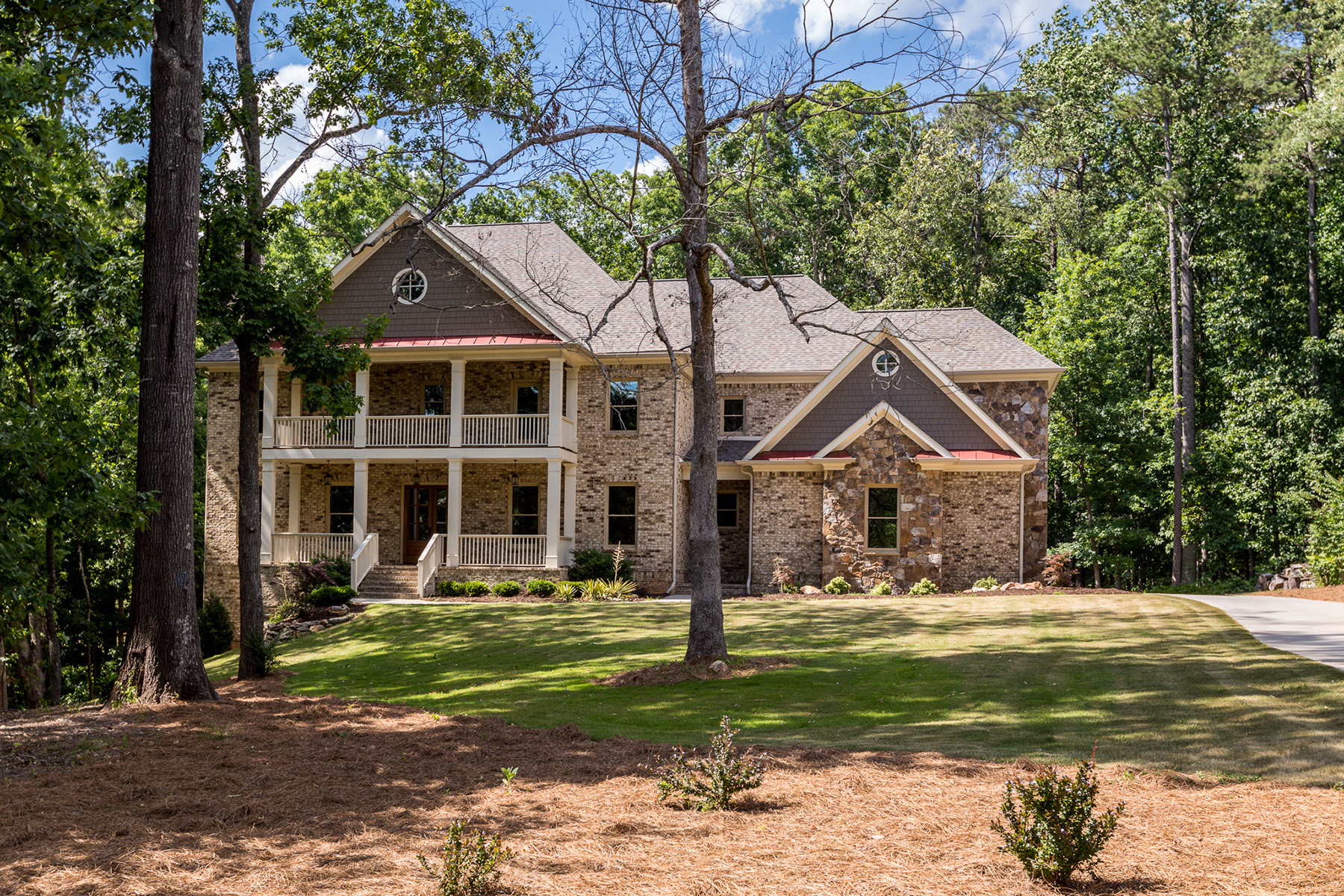 Single Family Homes for Active at Luxury Living In The Heart Of Roswell On A Two Acre Estate Lot 1025 Jones Road Roswell, Georgia 30075 United States