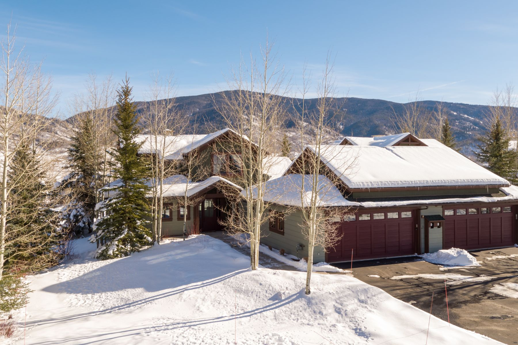 Single Family Home for Sale at Lake Catamount Cabin 30435 Lakeshore Trail Steamboat Springs, Colorado 80487 United States