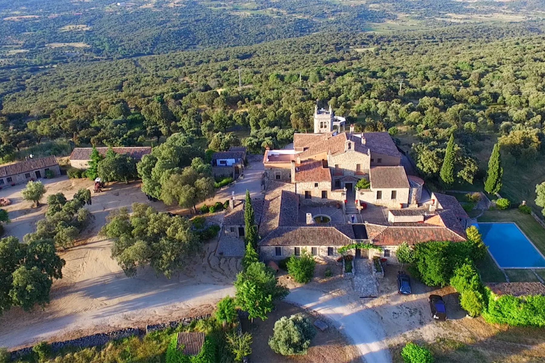 Farm / Ranch / Plantation for Sale at Mediterranean hunting Finca in Madrid Other Spain, Other Areas In Spain Spain