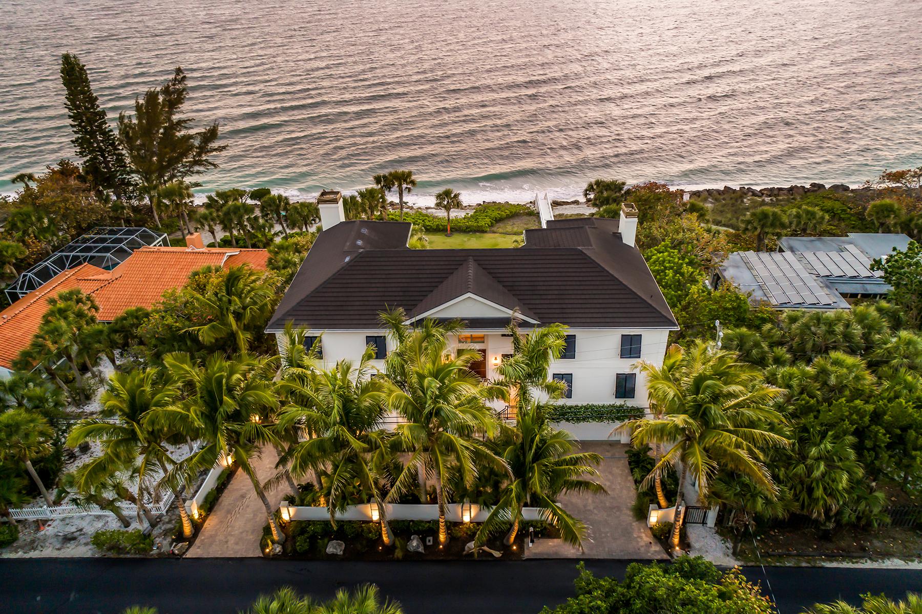 Single Family Homes for Active at 4009 Casey Key Rd Nokomis, Florida 34275 United States