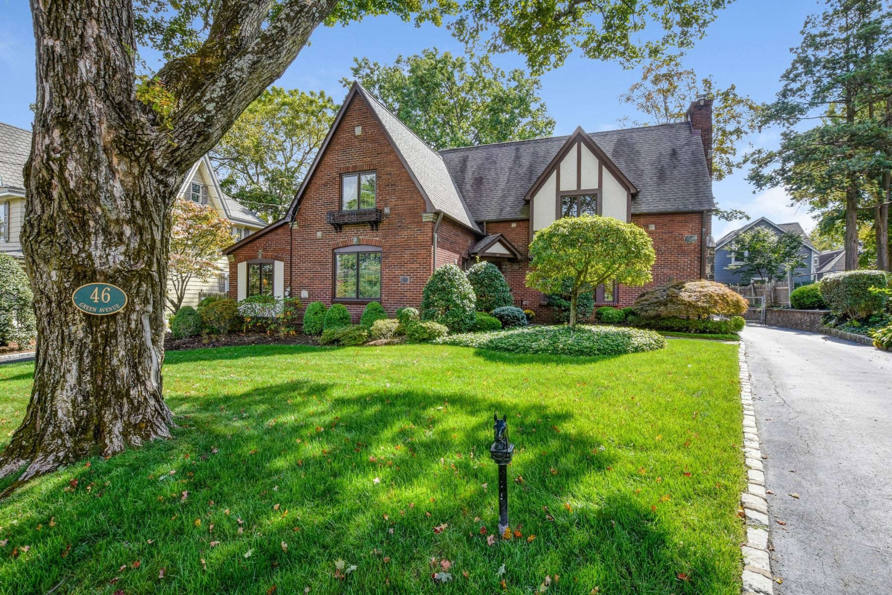 Single Family Homes for Sale at Storybook Tudor 46 Green Avenue Madison, New Jersey 07940 United States