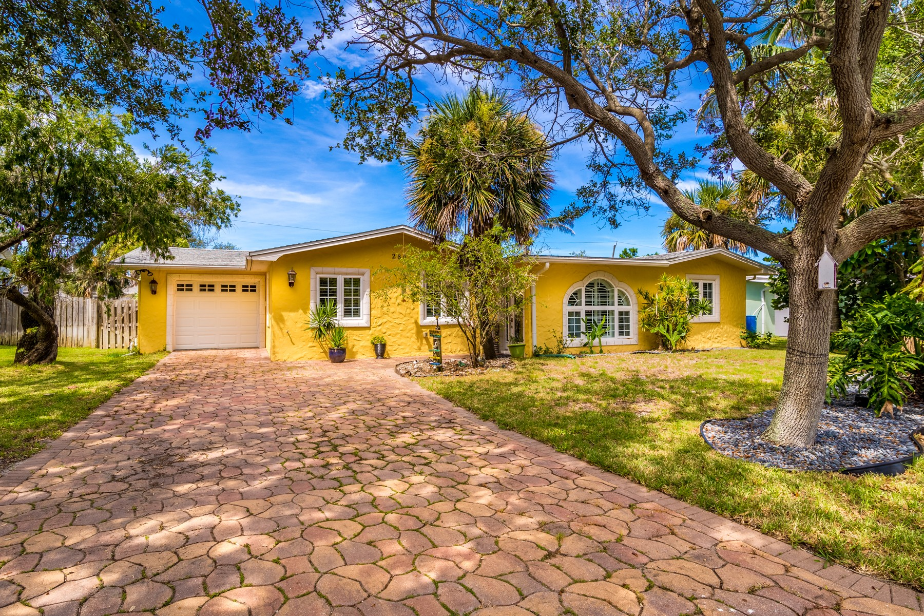 Single Family Home for Sale at Remodeled Home on Quiet Street 280 Richards Road Melbourne Beach, Florida 32951 United States
