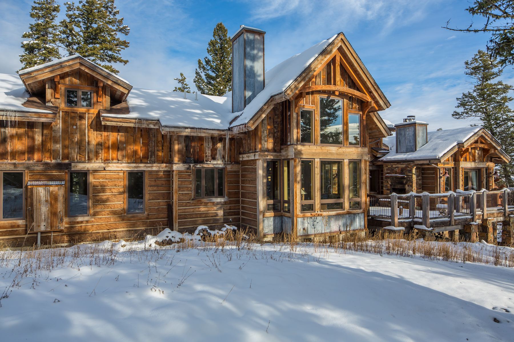 Single Family Homes for Sale at 77 Browtine 77 Browtine Big Sky, Montana 59716 United States