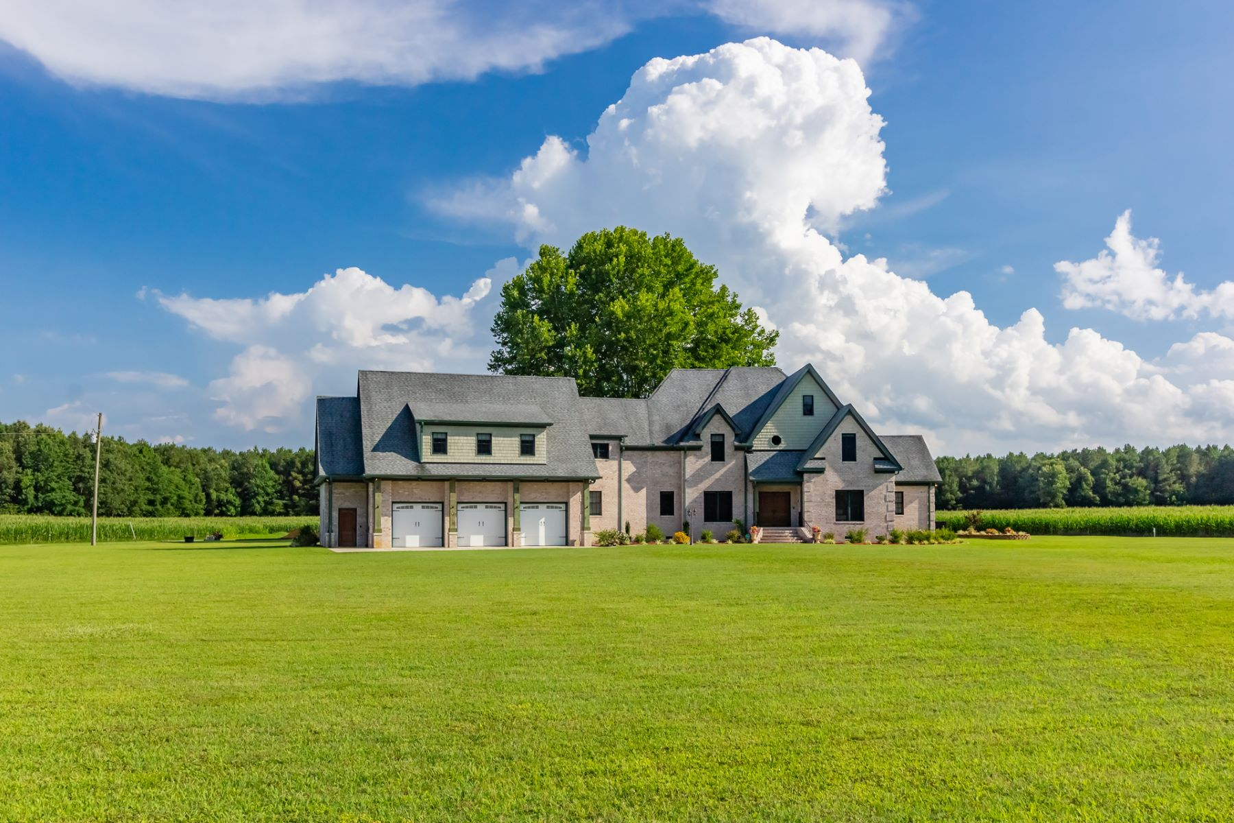 Single Family Homes for Sale at Southern Suffolk 4225 Deer Forest Road Suffolk, Virginia 23434 United States