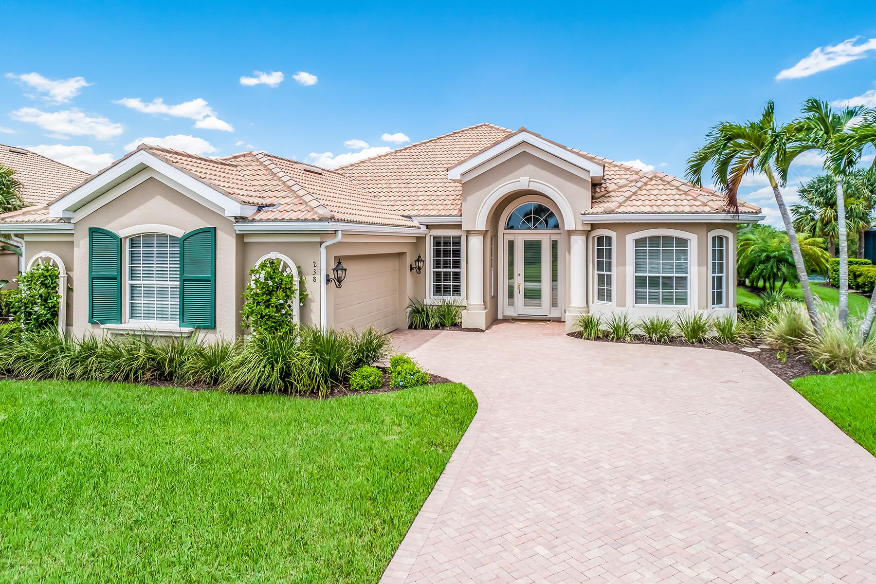 Single Family Homes por un Venta en VENETIAN GOLF & RIVER CLUB 238 Montelluna Dr, North Venice, Florida 34275 Estados Unidos