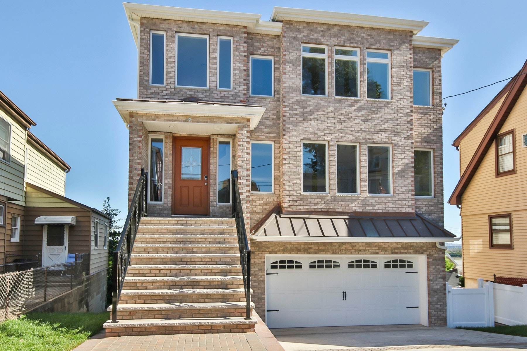 Single Family Home for Rent at Rental New Construction with New York City Views 28 Prospect Terrace East Rutherford, New Jersey 07073 United States