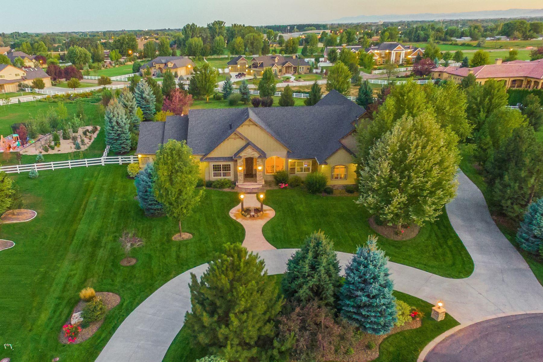 Casa Unifamiliar por un Venta en 3665 Fieno Court, Eagle 3665 W Fieno Ct Eagle, Idaho 83616