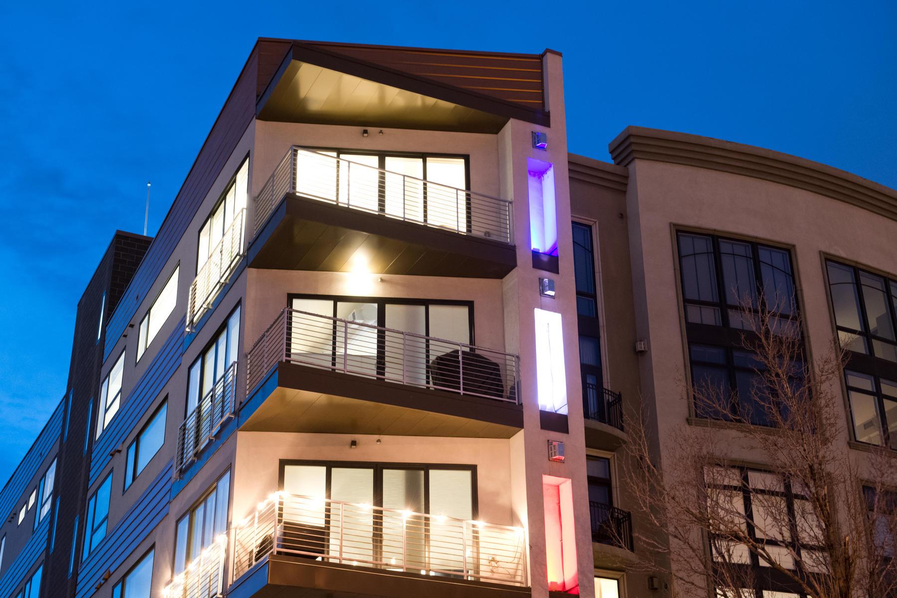"Condominiums для того Продажа на ""The Coolest Penthouse in LoHi"" 1737 Central Street #501, Denver, Колорадо 80211 Соединенные Штаты"