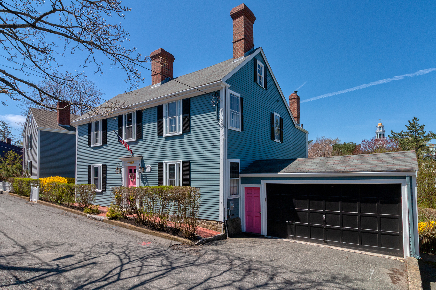 Single Family Homes por un Venta en Marblehead Antique Colonial 25 Circle Street Marblehead, Massachusetts 01945 Estados Unidos
