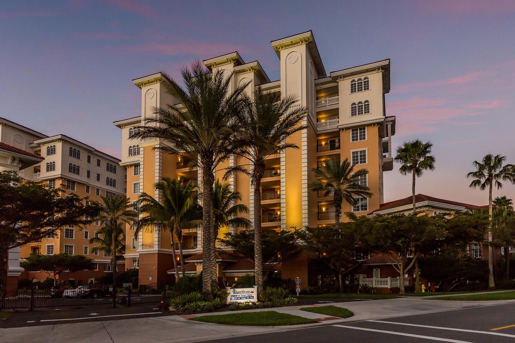 Condominiums für Verkauf beim WATERFRONT ON VENICE ISLAND 167 Tampa Ave E , 912, Venedig, Florida 34285 Vereinigte Staaten