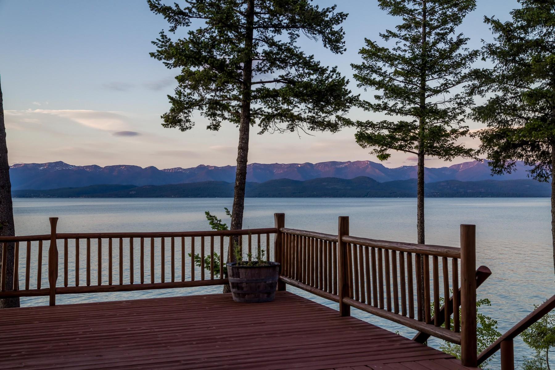 Single Family Homes для того Продажа на Lakeside, Монтана 59922 Соединенные Штаты