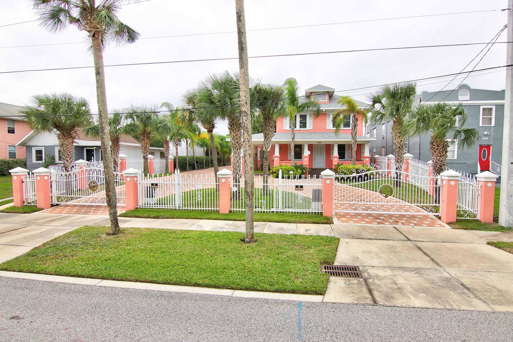 Casa para uma família para Venda às 417 N Wild Olive Ave , Daytona Beach, FL 32118 417 N Wild Olive Ave Daytona Beach, Florida 32118 Estados Unidos