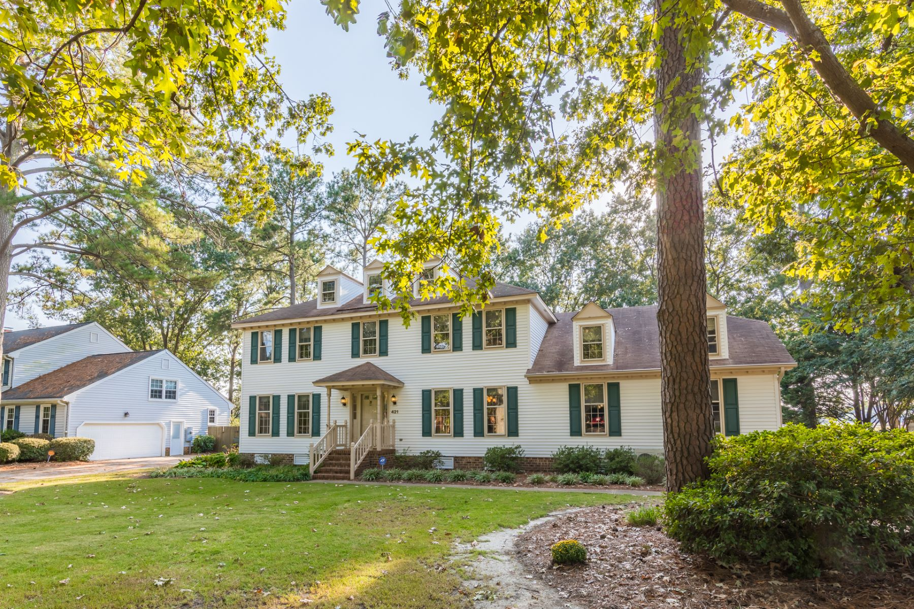 Single Family Homes for Active at Pleasant Point 421 Peace Haven Drive Norfolk, Virginia 23502 United States