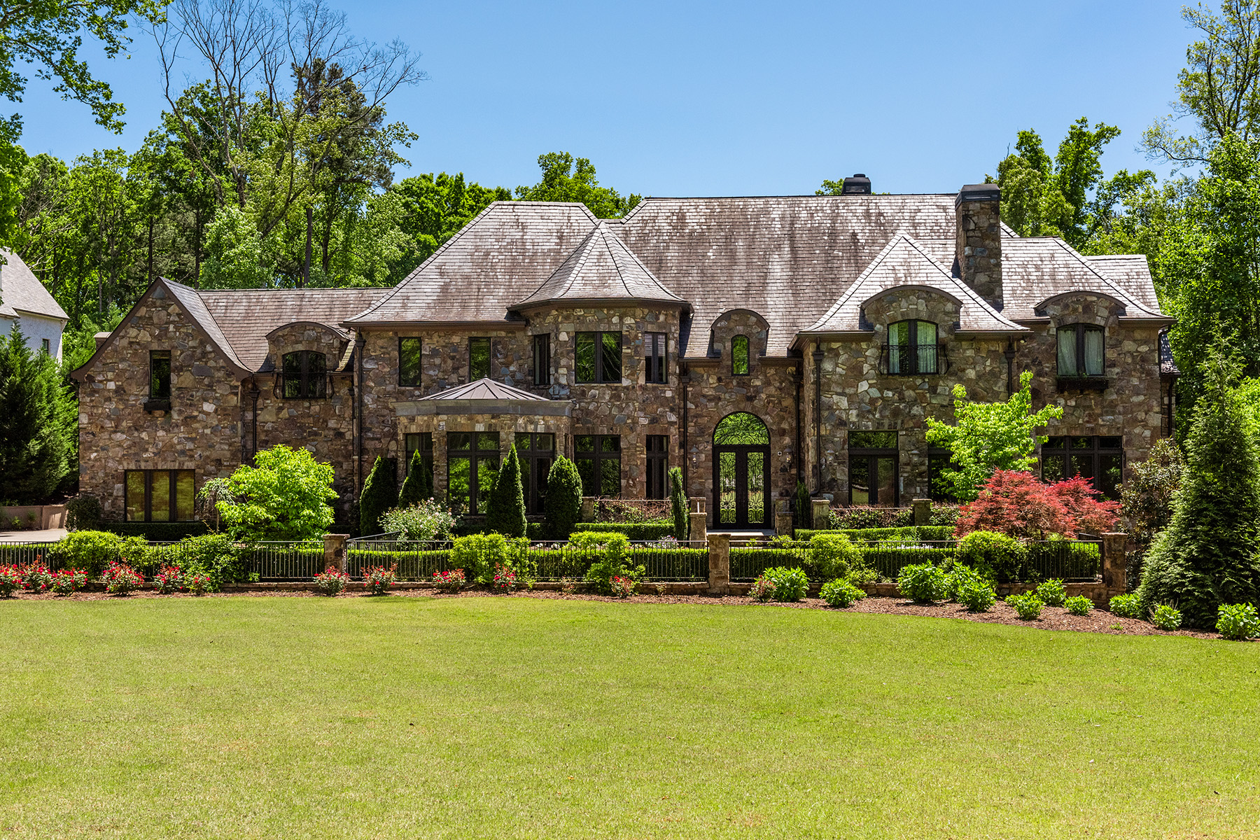 Single Family Homes for Sale at Magnificent Stately Gated 2.55+/- Acre Estate Home 1376 Mount Paran Road NW Atlanta, Georgia 30327 United States