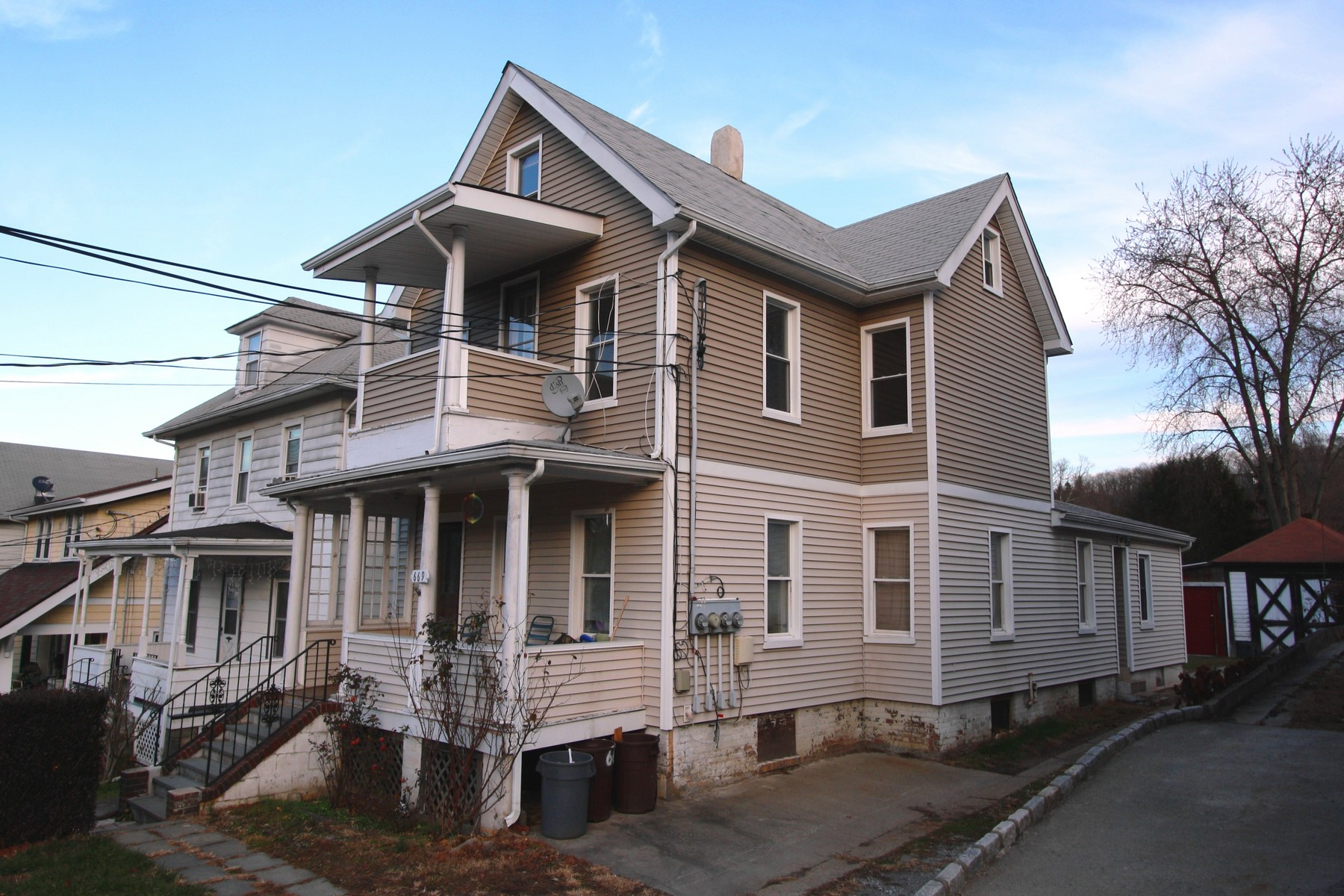 Multi-Family Home for Sale at Three Family Investment Property 669 Highland Avenue Peekskill, New York 10566 United States