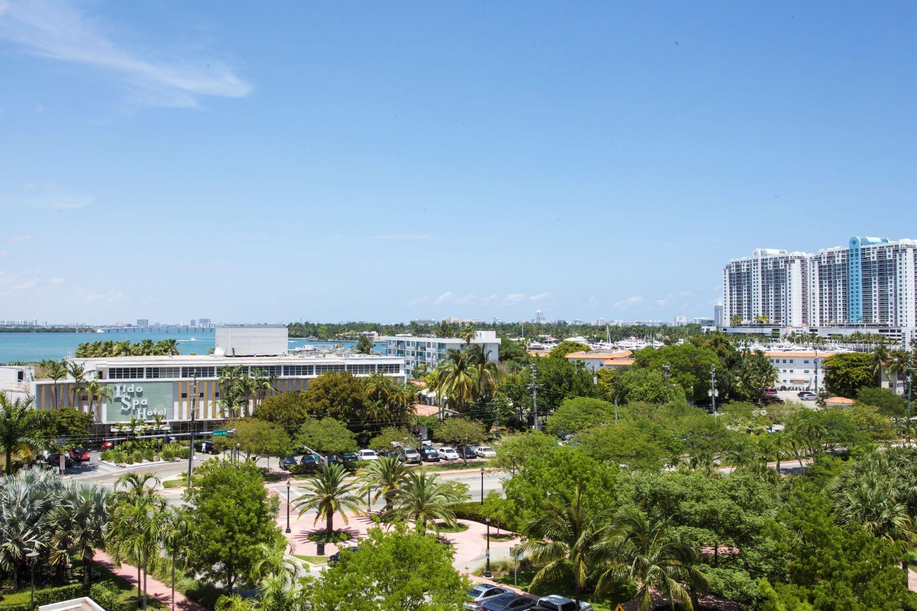 Appartement en copropriété pour l Vente à 5 Island Ave #6H 5 Island Ave 6H Miami Beach, Florida, 33139 États-Unis