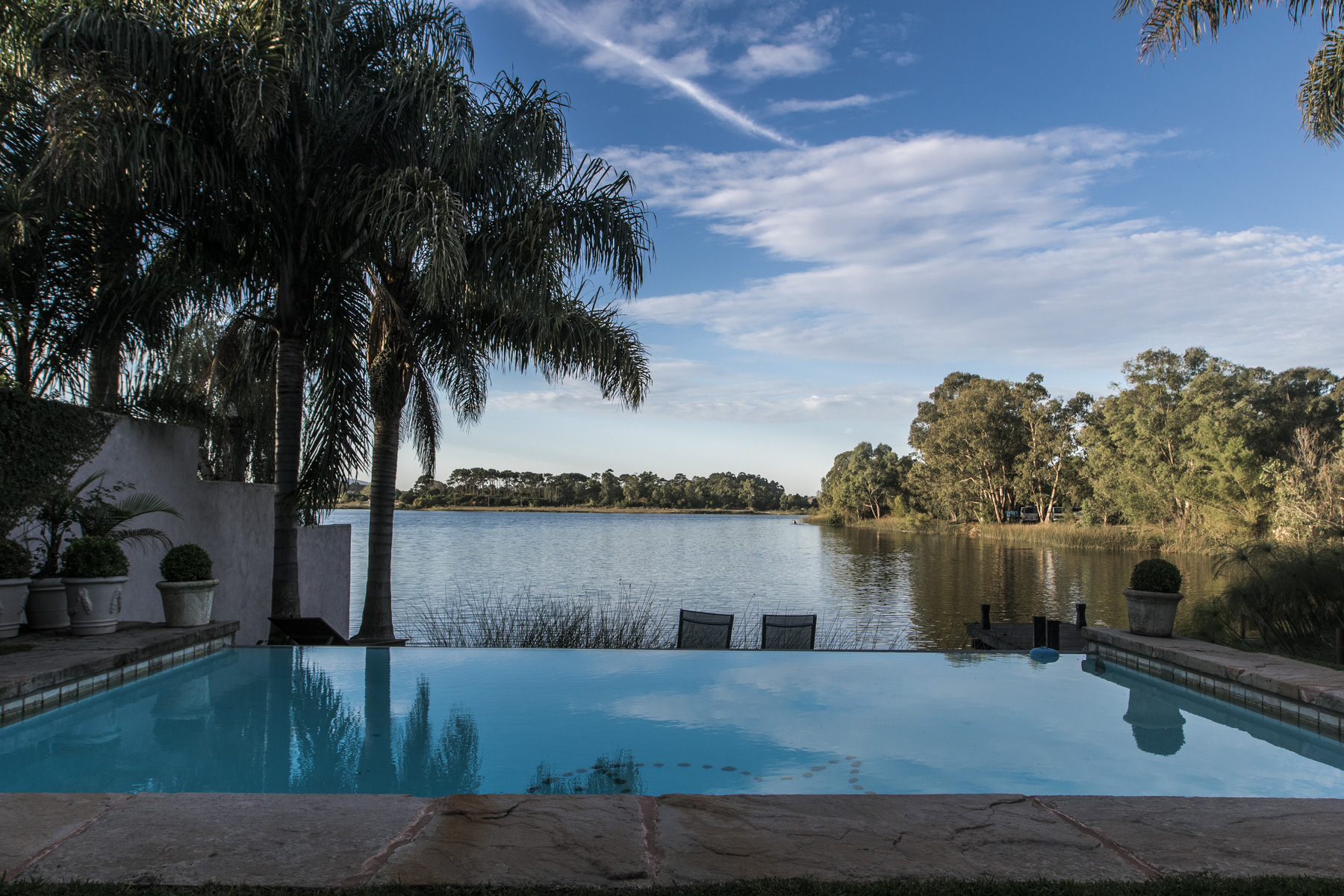 Single Family Home for Sale at Tuscan home on the lake Montevideo, Montevideo, Uruguay