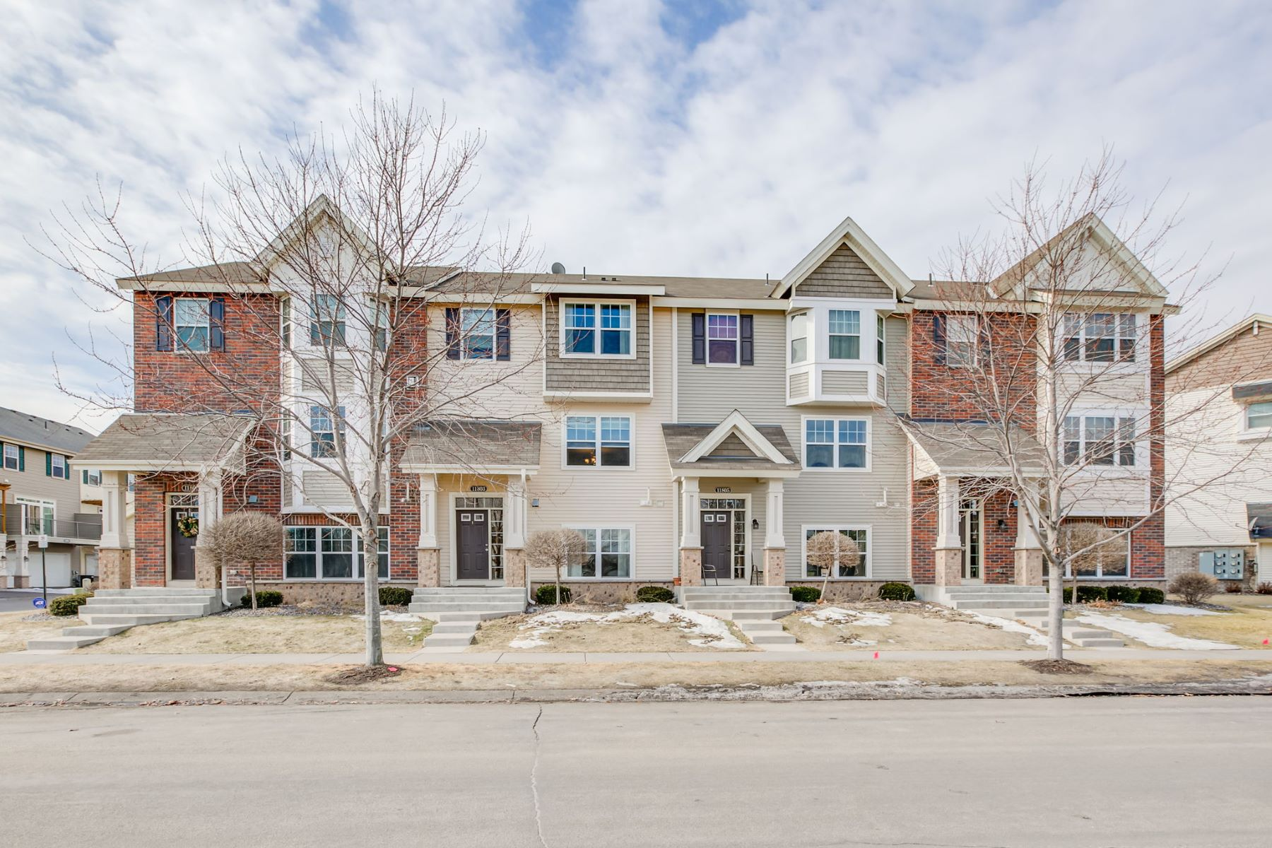 townhouses for Sale at 11803 Emery Village Drive N #2602 Champlin, Minnesota 55316 United States