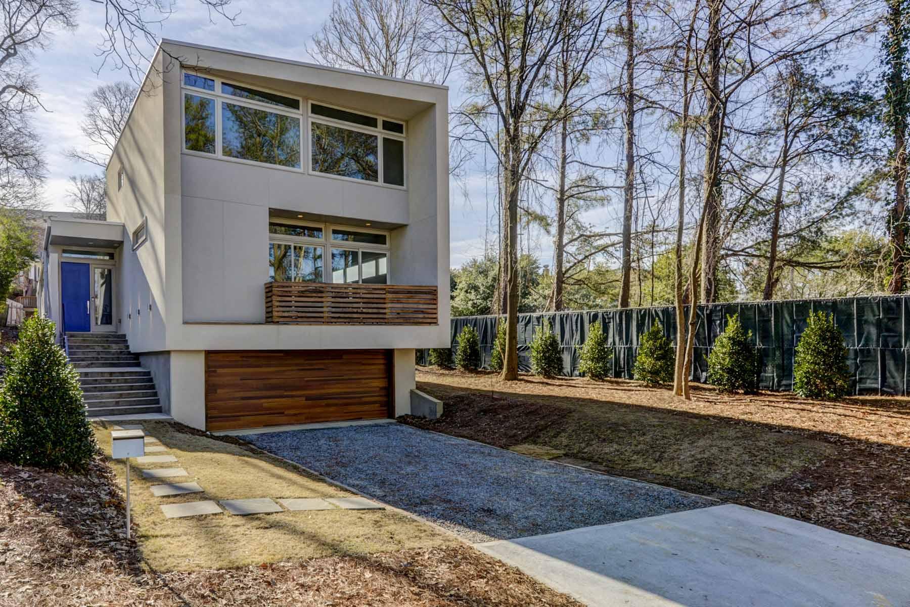 Nhà ở một gia đình vì Bán tại Designer Home Steps from the Beltline and Ponce City Market 811 Belgrade Avenue NE Poncey Highland, Atlanta, Georgia, 30306 Hoa Kỳ