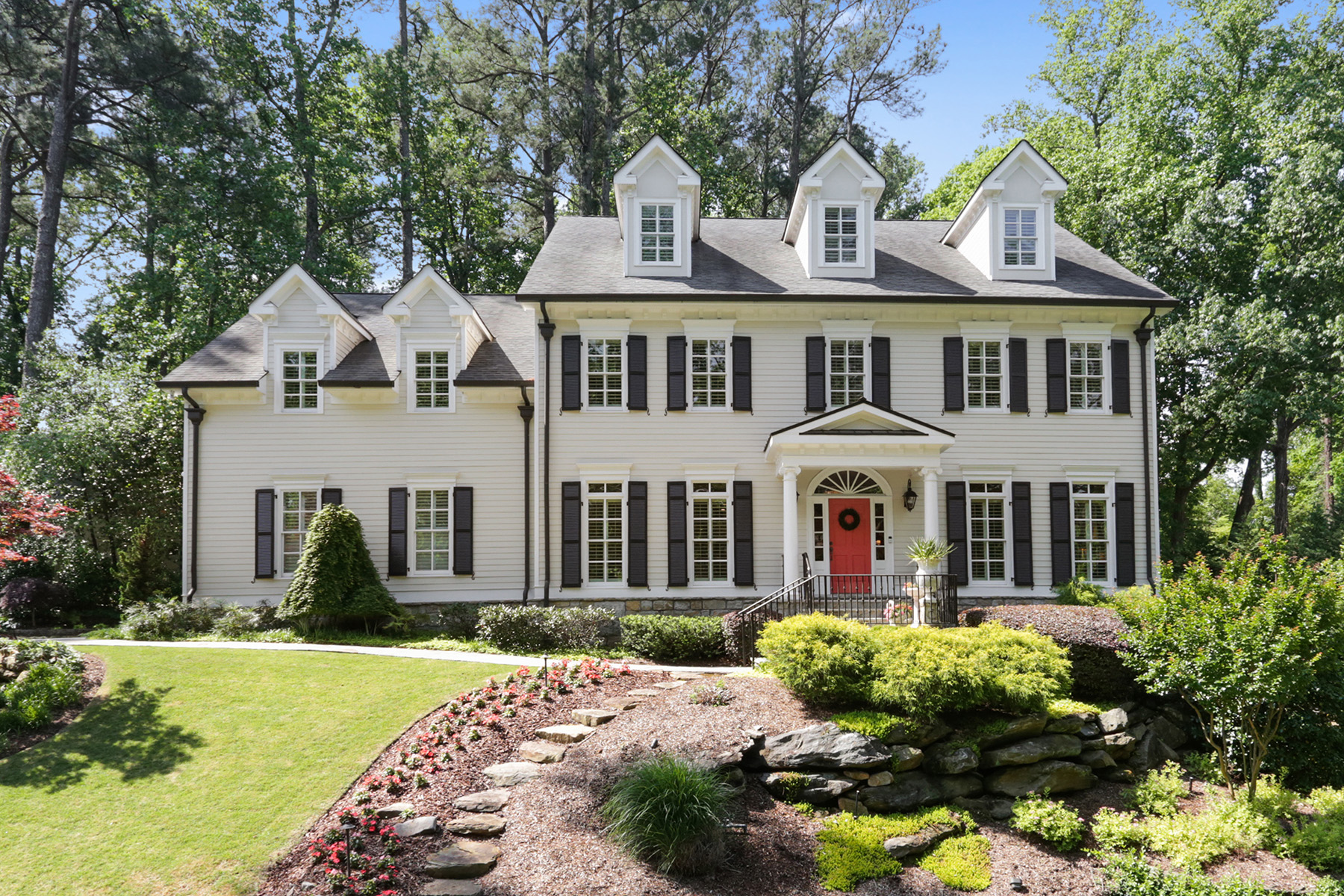 Single Family Home for Sale at Stunning Pine Hills Traditional Home in Sarah Smith Elementary 3116 Towerview Drive Atlanta, Georgia 30324 United States