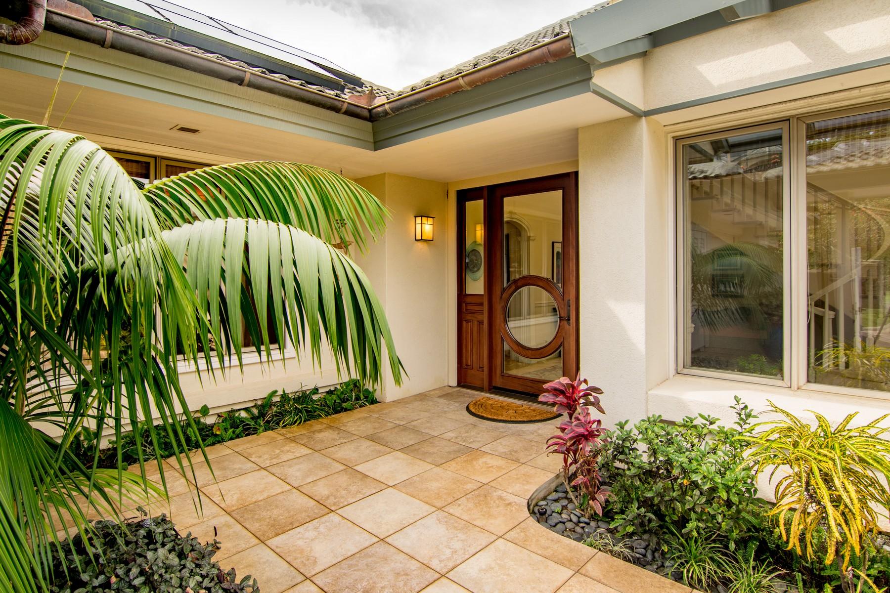 Maison unifamiliale pour l Vente à Kapalua Pineapple Hill Masterpiece!! 600 Silversword Drive Kapalua, Hawaii, 96761 États-Unis