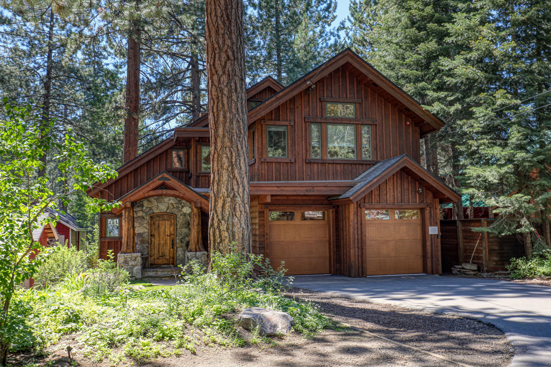 Single Family Homes for Active at Luxury on the Golf Course 601 Brassie Avenue Tahoe Vista, California 96148 United States