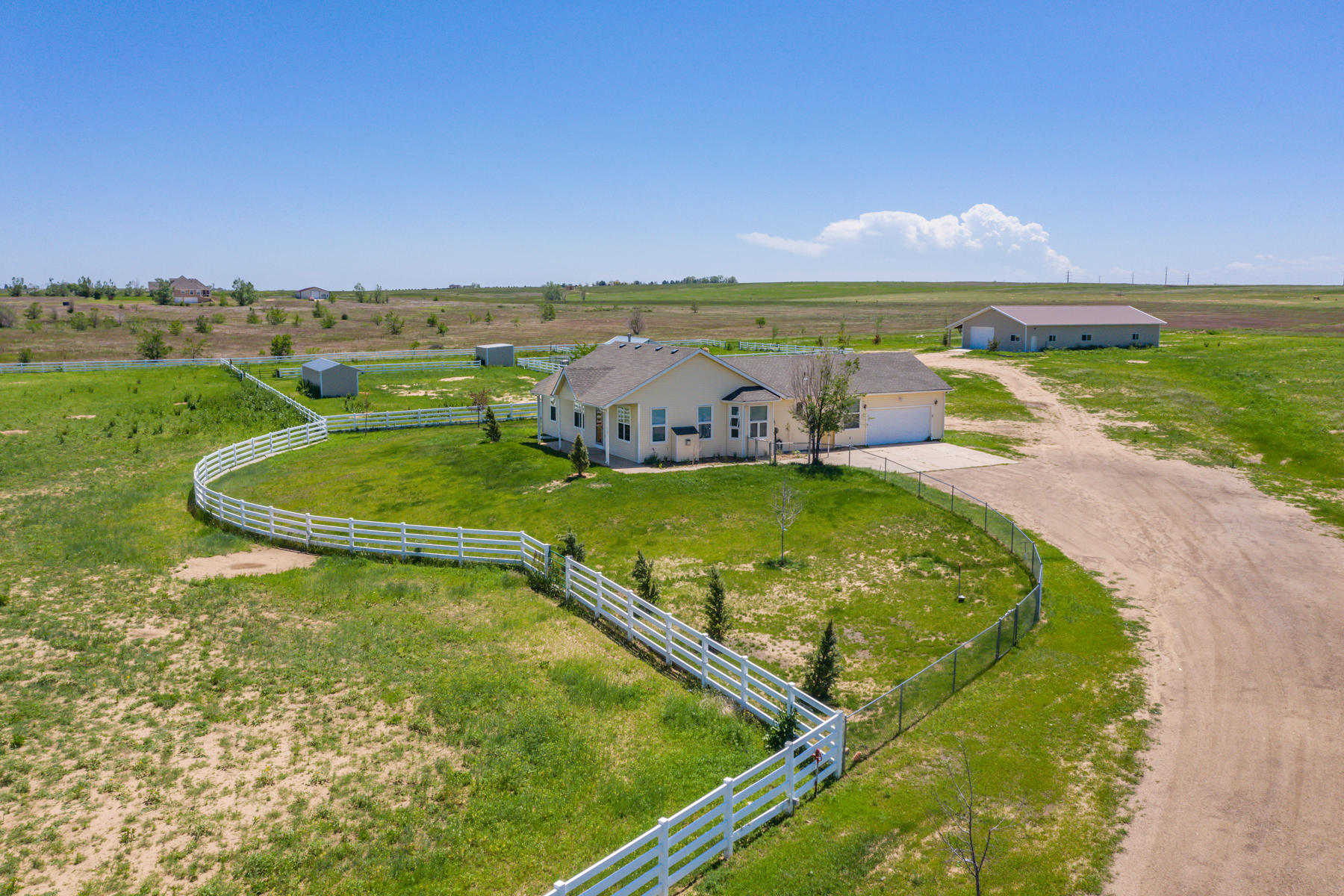 Single Family Homes for Sale at 26800 E 152nd Avenue Brighton, Colorado BRIGH United States