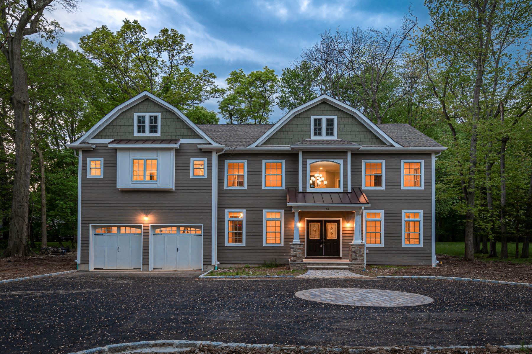 Single Family Homes for Sale at Fabulous New Construction 412 Van Emburgh Ave Ridgewood, New Jersey 07450 United States