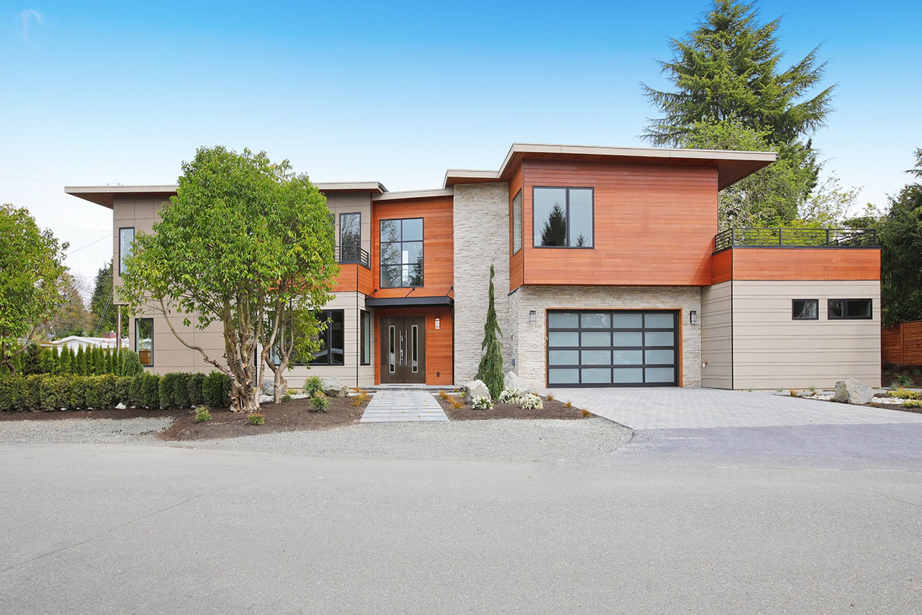 独户住宅 为 销售 在 Downtown 1288 106th Place NE 贝尔维尤, 华盛顿州 98004 美国