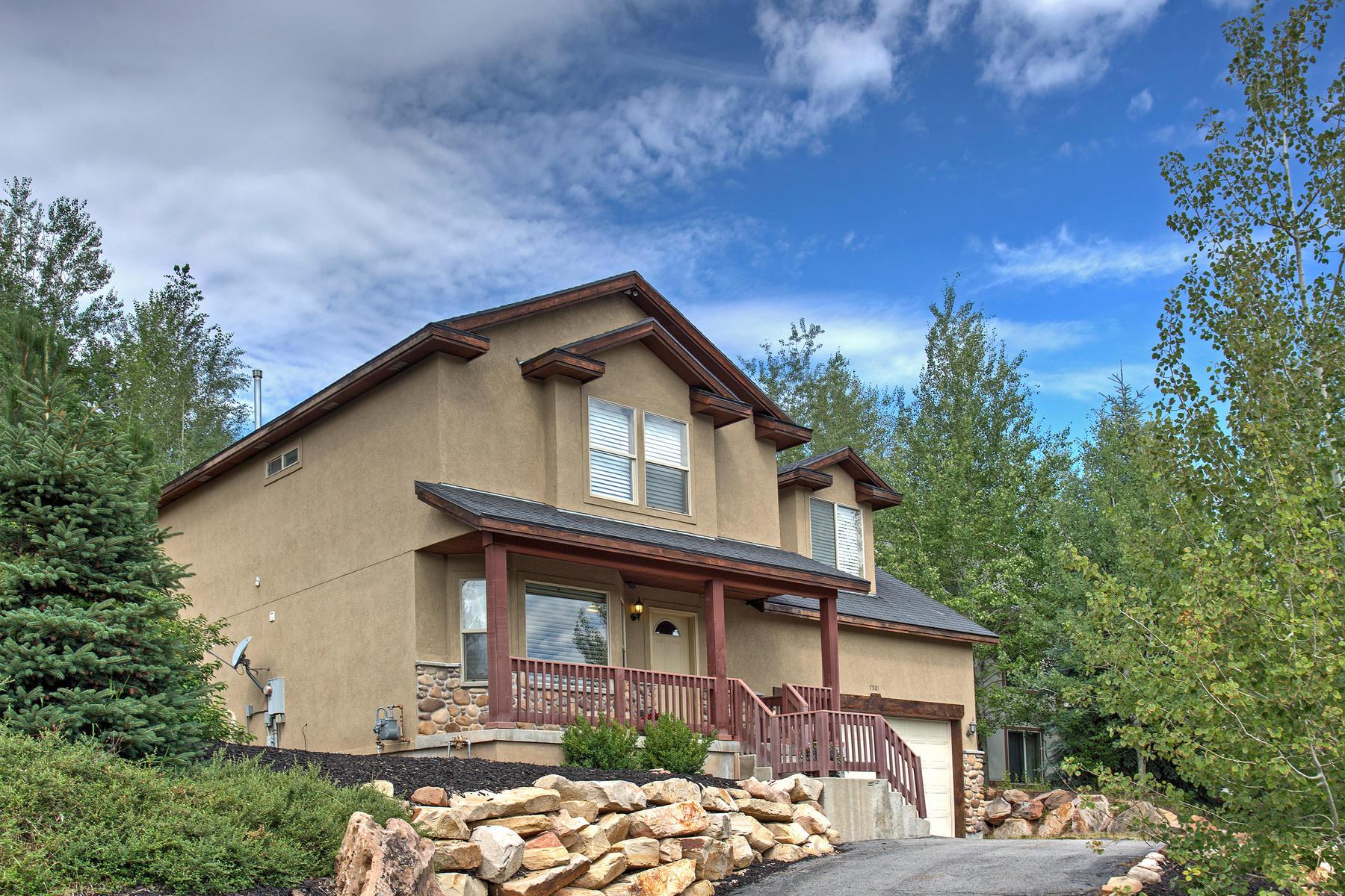 Vivienda unifamiliar por un Venta en Six Bedroom Home in a Great Family Neighborhood 7501 Susans Cir Park City, Utah, 84098 Estados Unidos