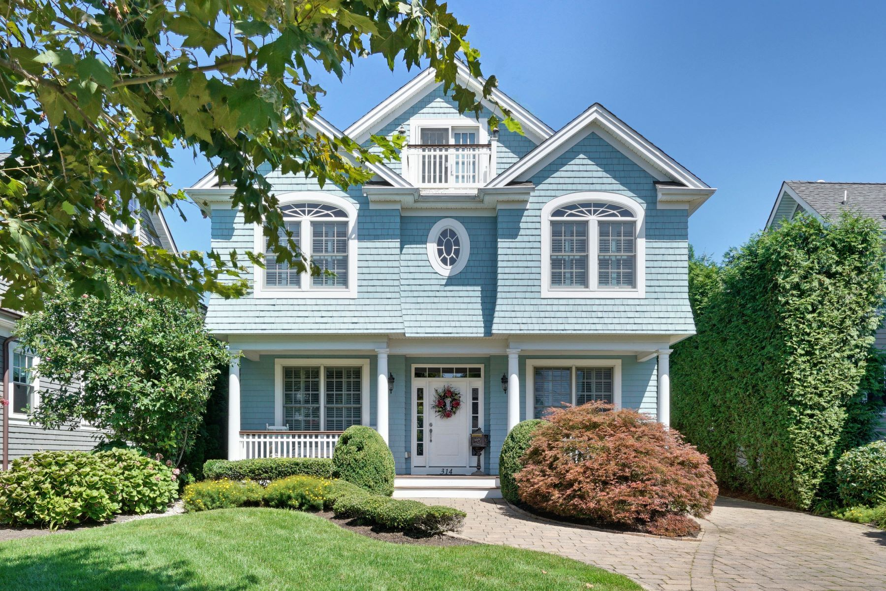 Single Family Homes for Sale at Stunning Custom Home 314 Jersey Avenue Spring Lake, New Jersey 07762 United States