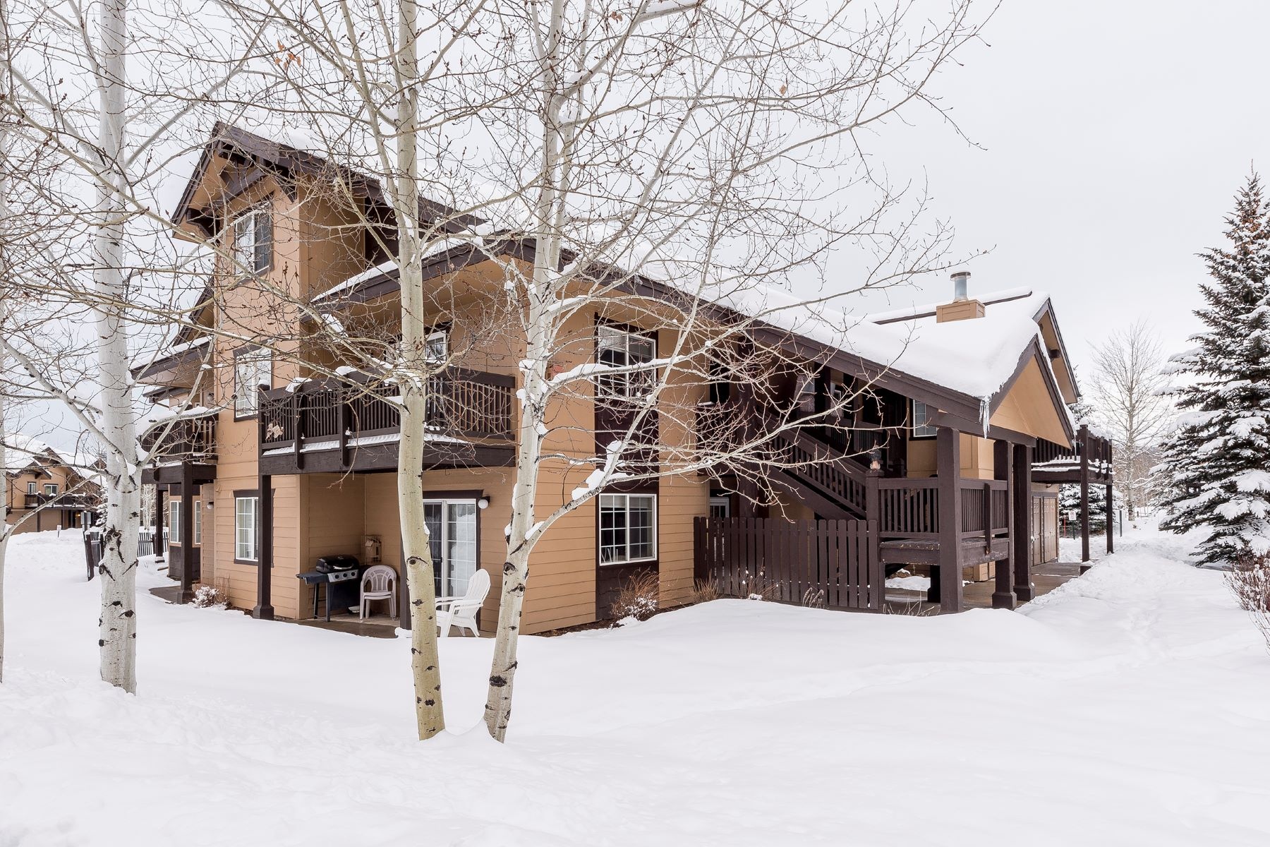 Кондоминиум для того Продажа на Quail Run, Steamboat Springs, CO 3303 Covey Cir #5, Steamboat Springs, Колорадо, 80487 Соединенные Штаты
