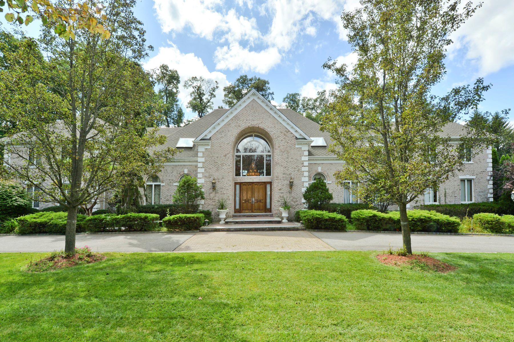 Maison unifamiliale pour l Vente à SOUTH POND ESTATE 3 S Pond Rd, Saddle River, New Jersey 07458 États-Unis