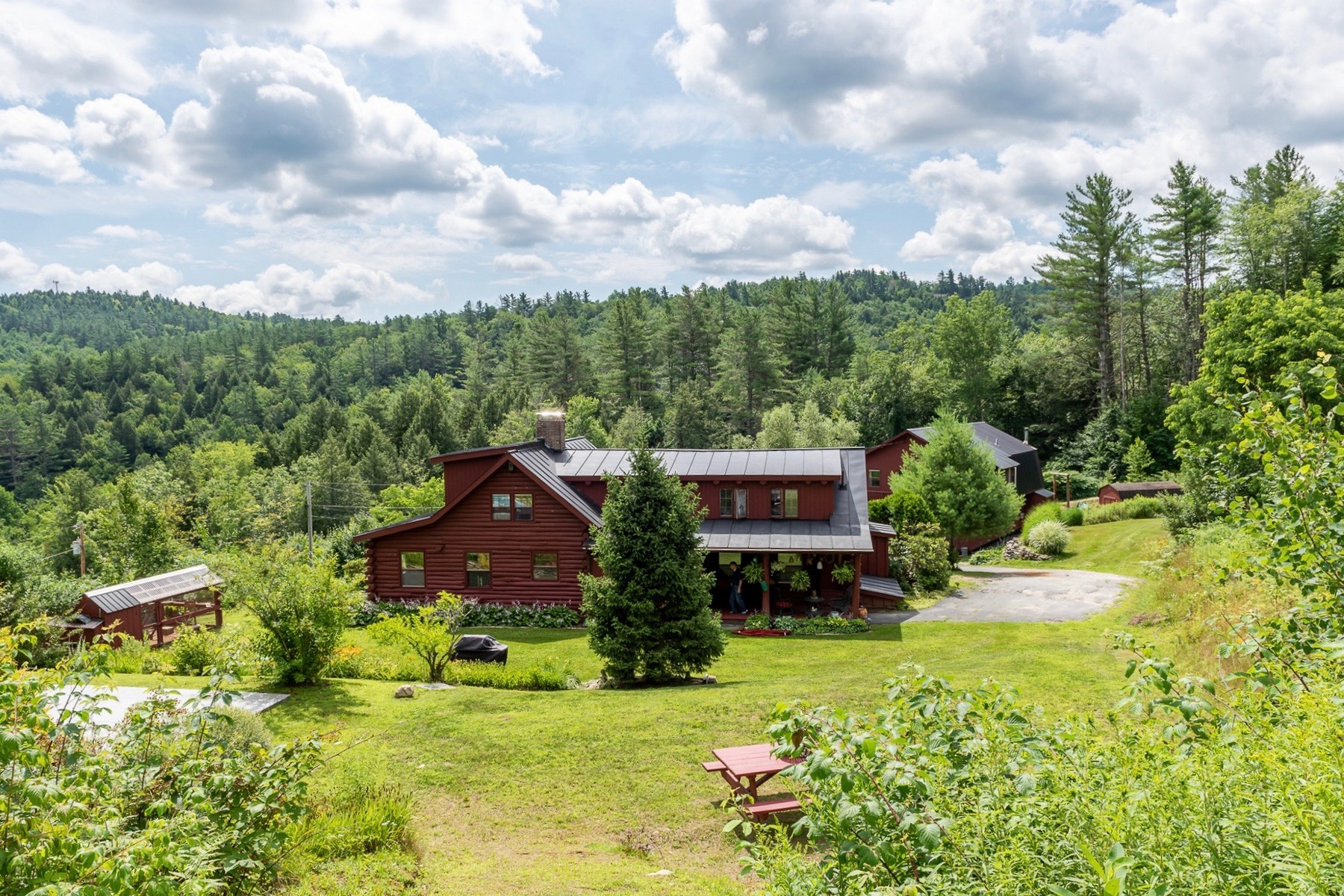 Single Family Homes for Sale at Ludlow Village on 4.7 Acres 6 Parker Ave Ludlow, Vermont 05149 United States