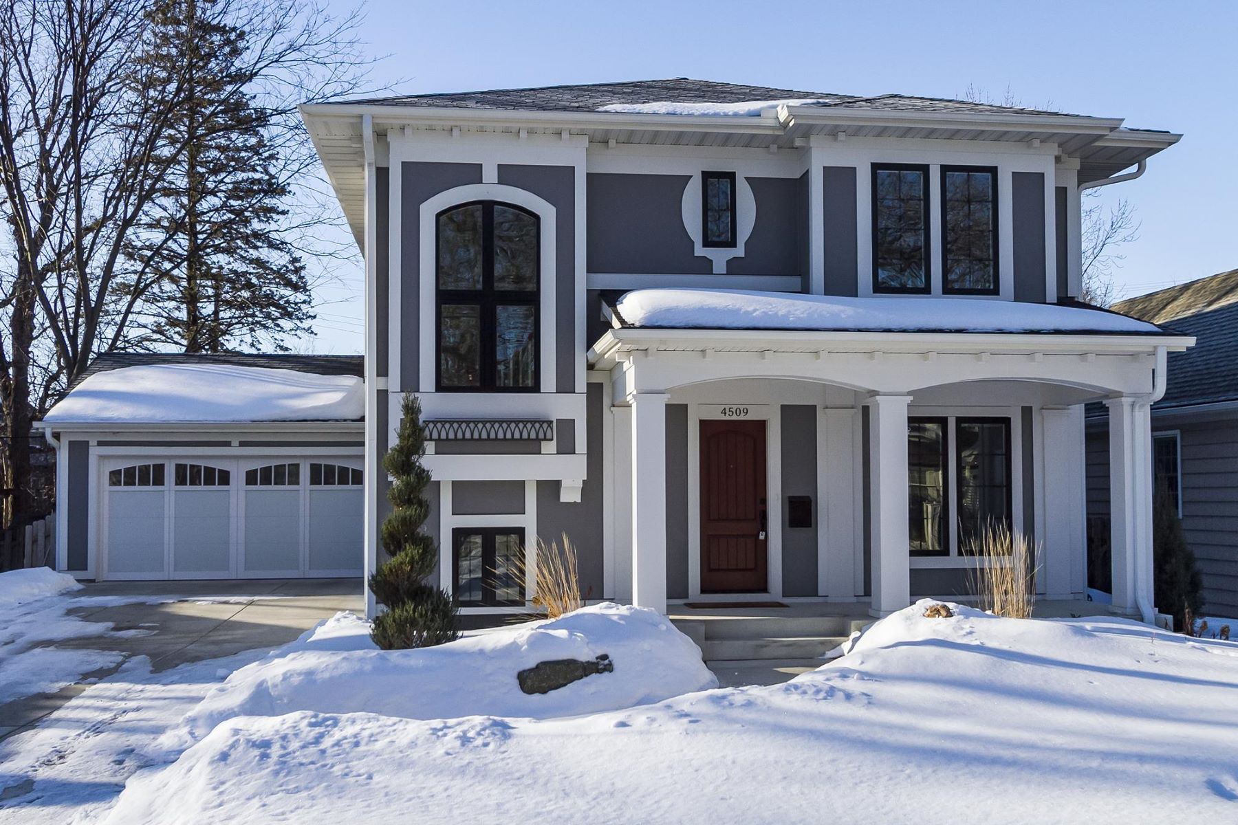 Частный односемейный дом для того Продажа на 4509 Oak Drive Edina, Миннесота, 55424 Соединенные Штаты